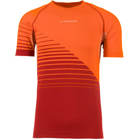 La Sportiva Complex - T-shirt course à pied Homme - orange/rouge